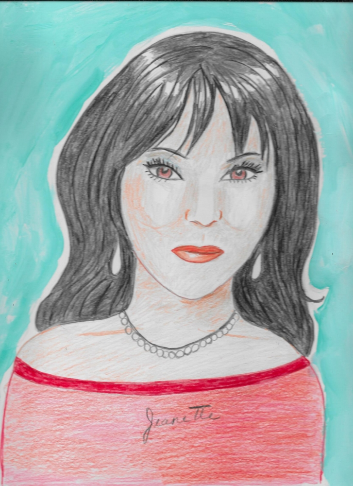 Julie Chen by Jeanette